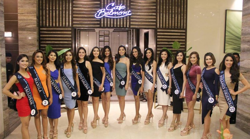 15 Oceanic Beauties vies for Miss Scuba Philippines 2017